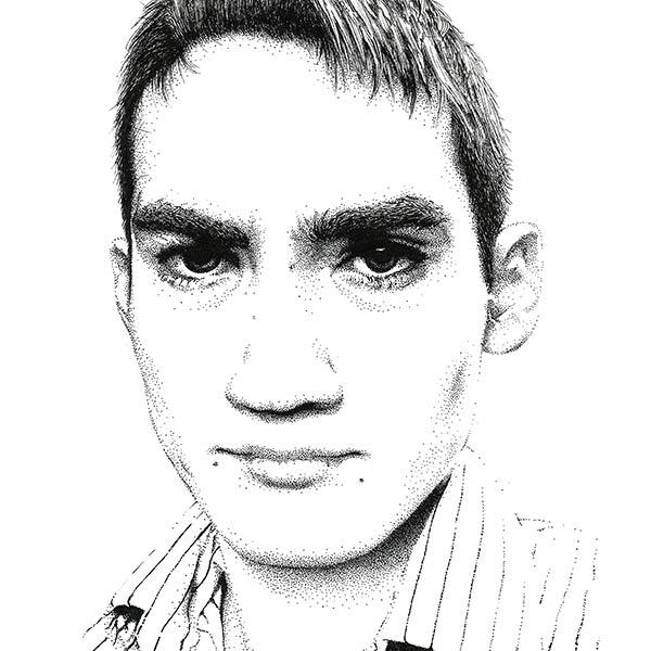 Selfie | Micron Pen | 2013