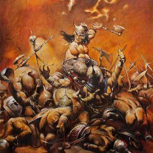 Frazetta's 'The Destroyer' (2011) | Medium: Oil Paint
