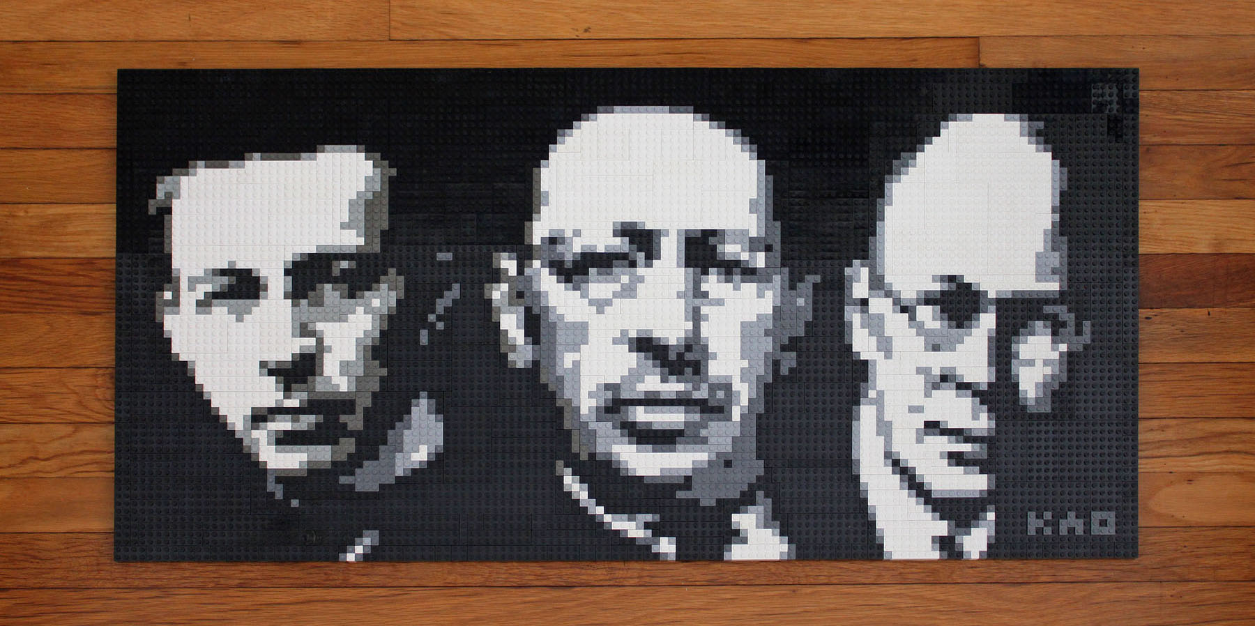 LEGO Mosaic full view