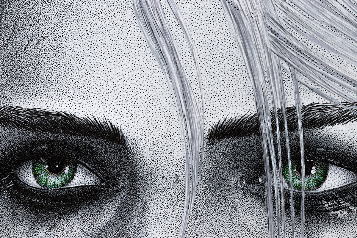 Ciri eyes by Keith Orlando