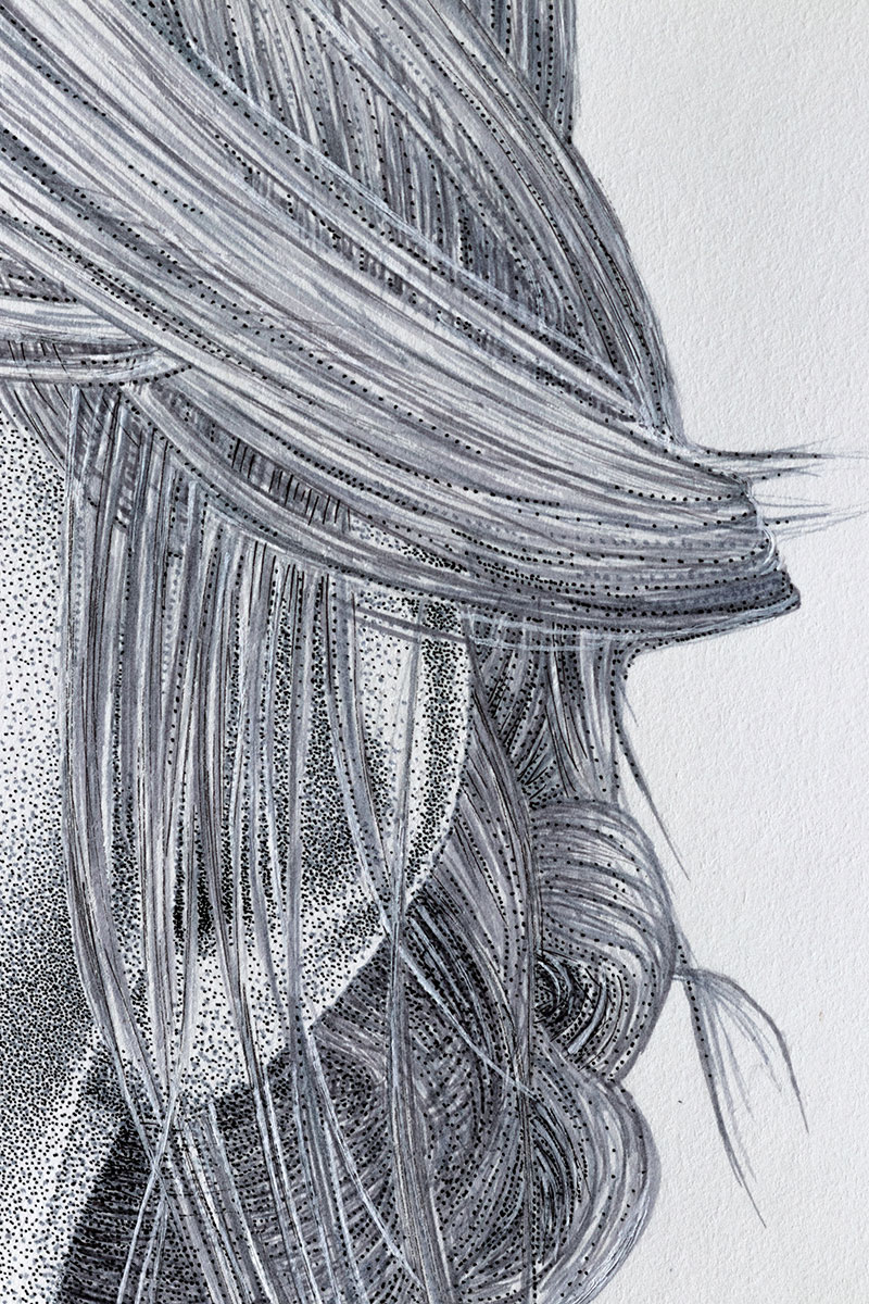Ciri hair bun by Keith Orlando