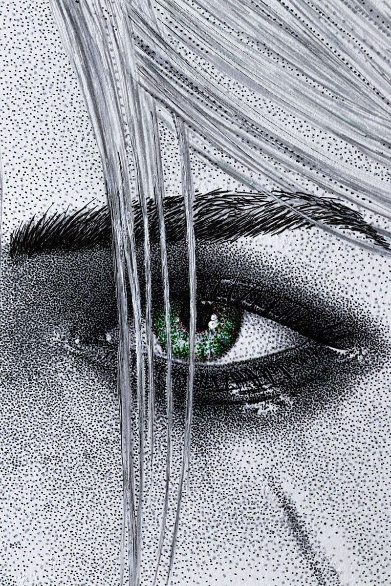 Ciri right eye by Keith Orlando