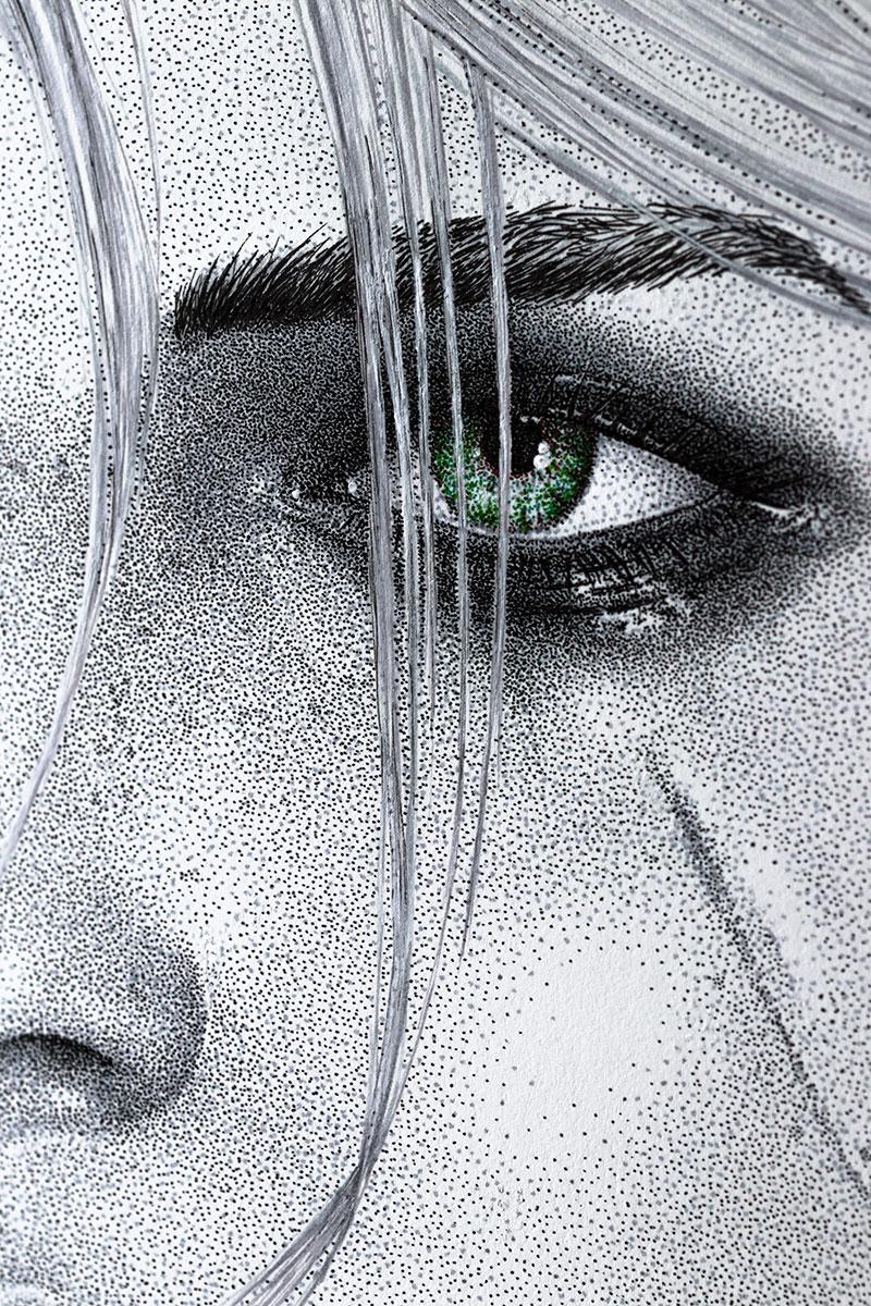 Ciri right face by Keith Orlando