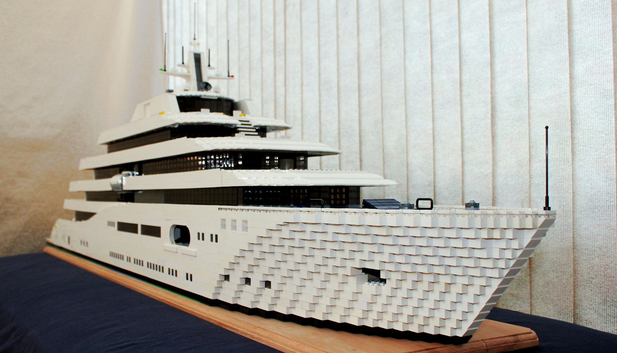 LEGO Mega-Yacht Bow by Keith Orlando