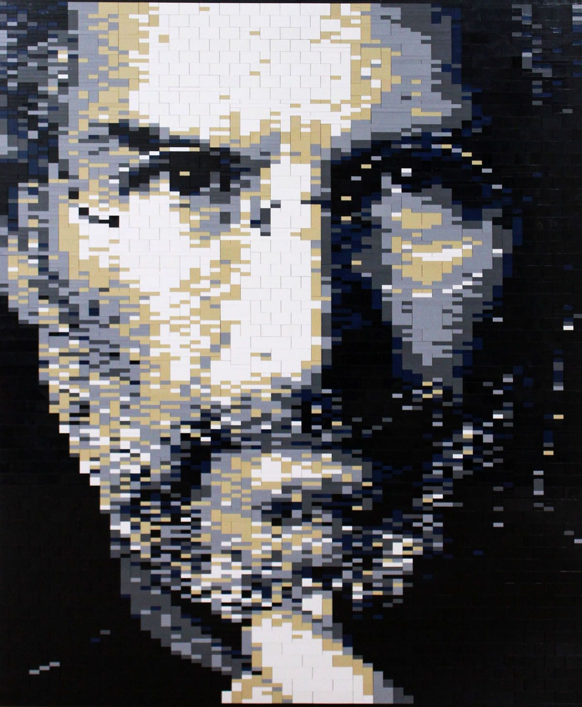 LEGO Steve Jobs Mosaic by Keith Orlando
