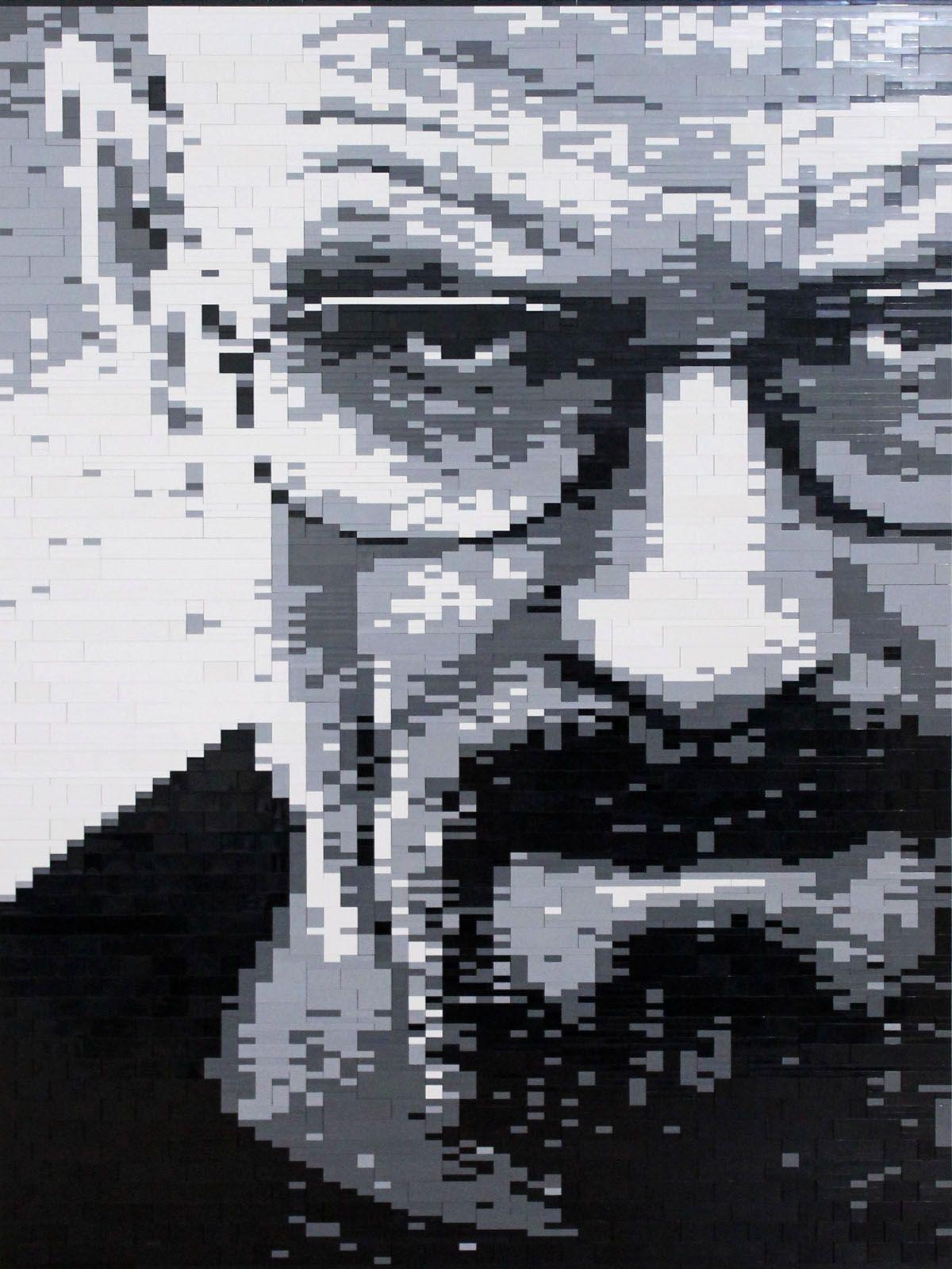 Walter White Lego Mosaic