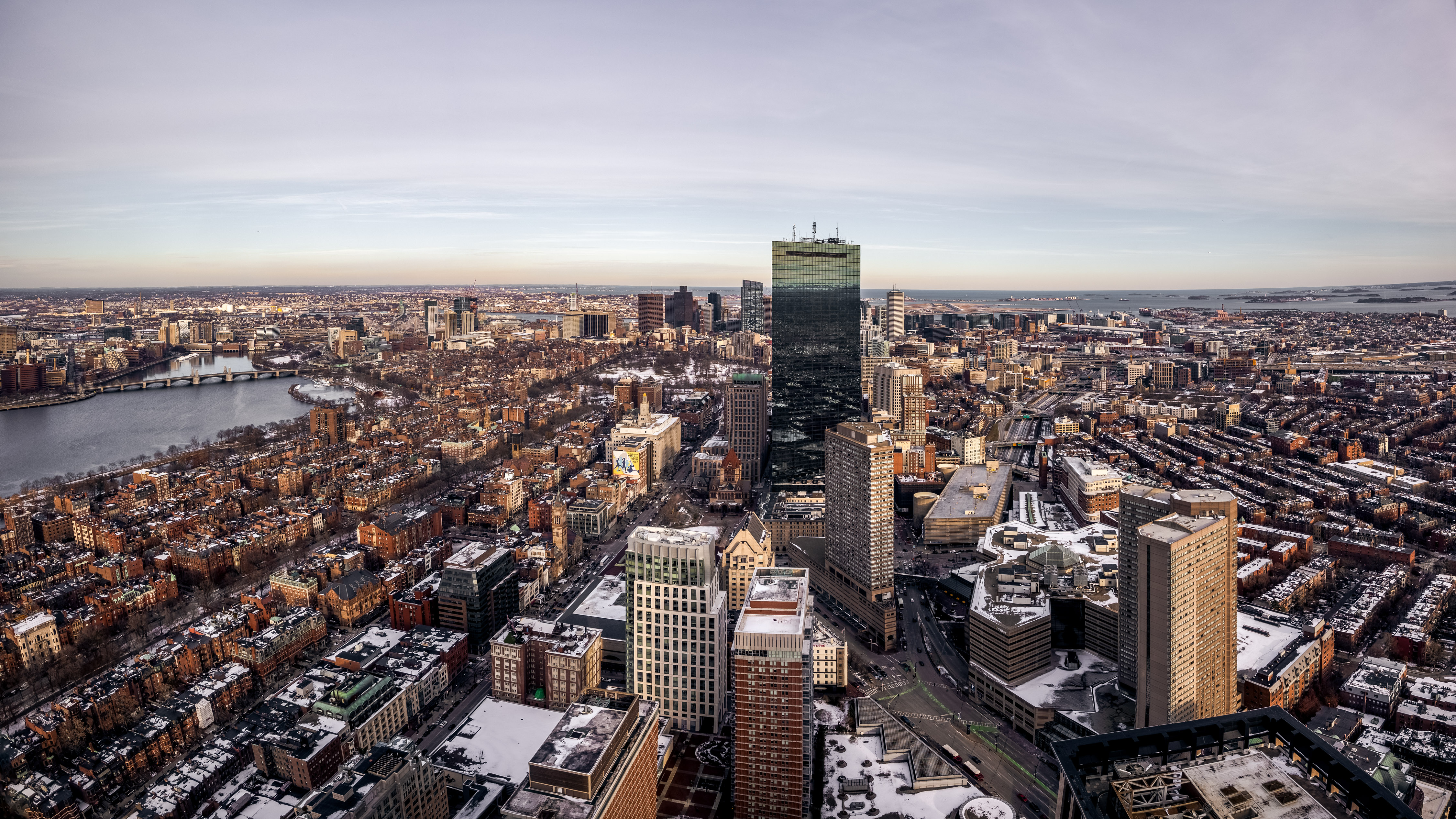 Wintery Boston