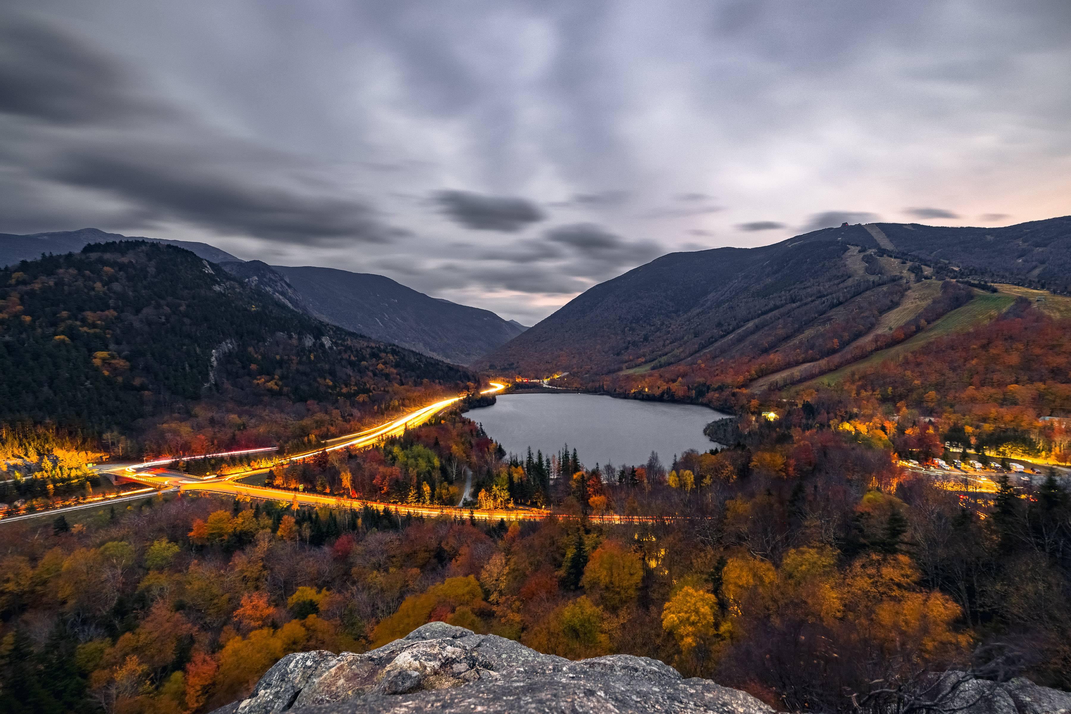 Franconia Light Trails