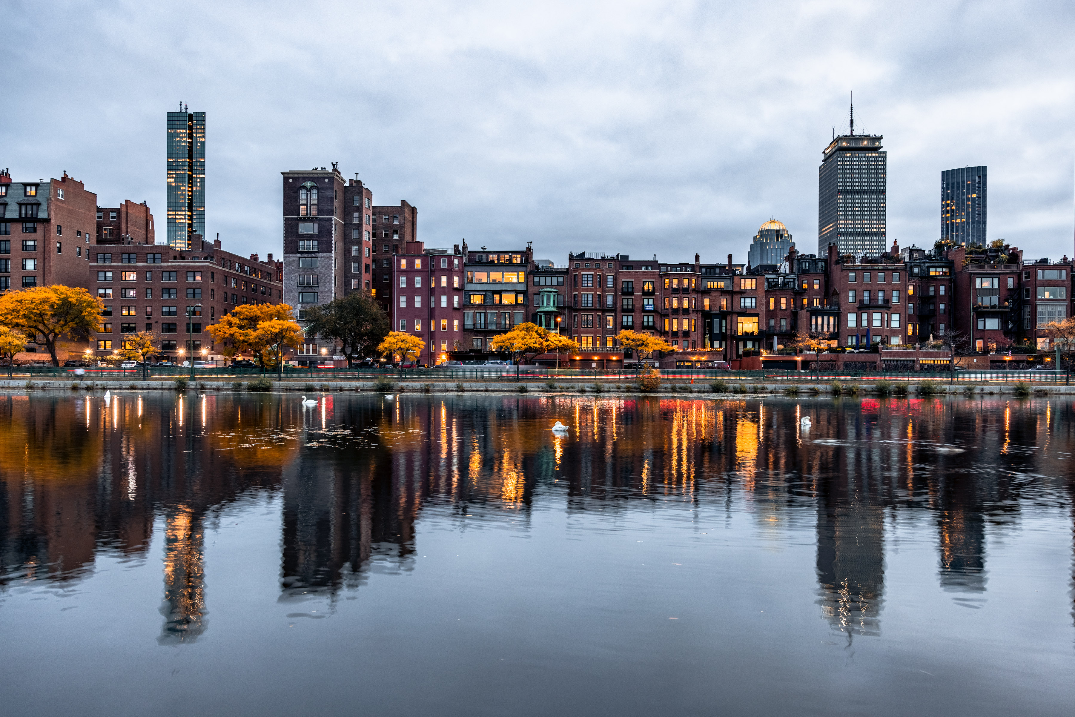 Back Bay on a Dreary Day