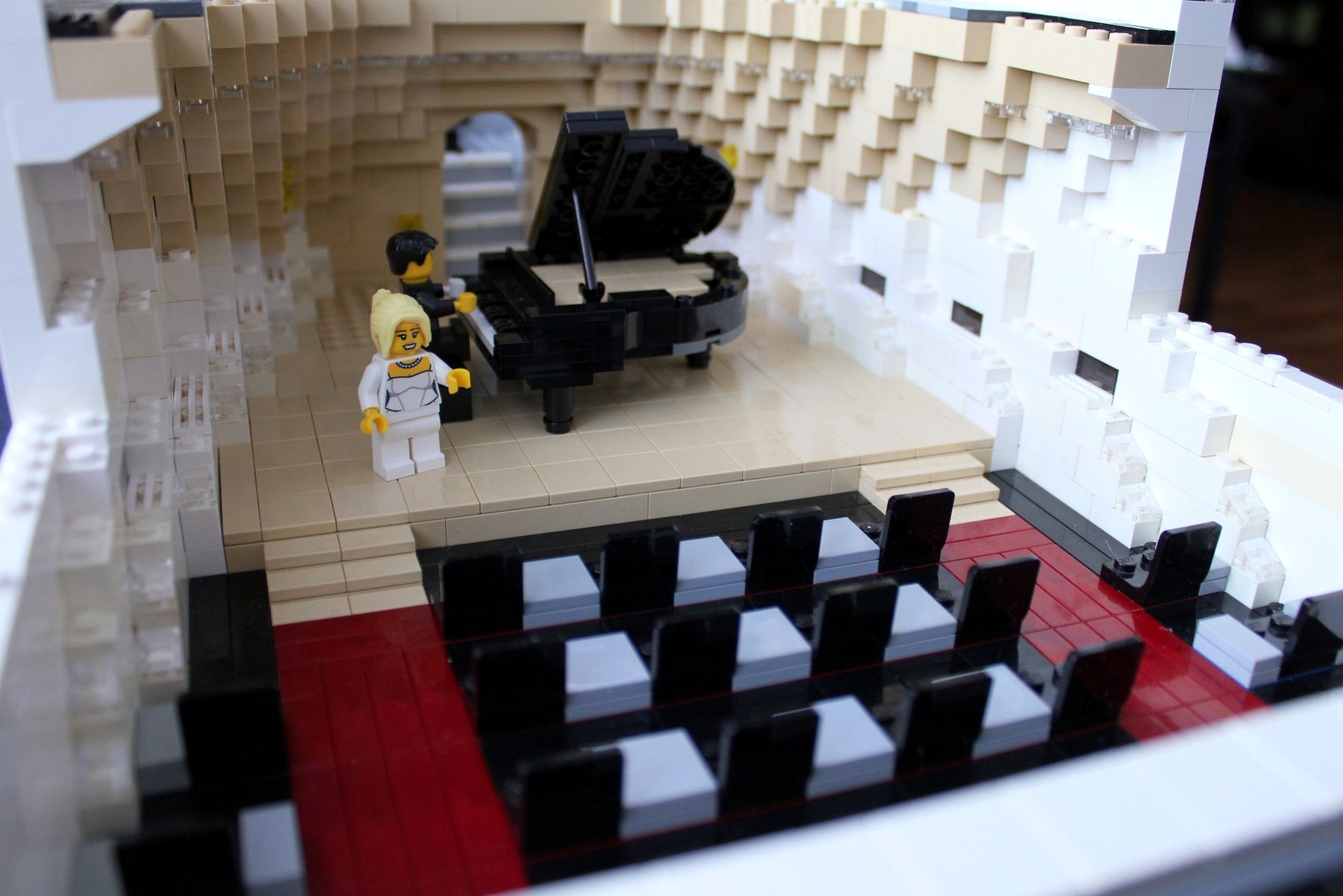 LEGO Mega-Yacht Concert Hall by Keith Orlando