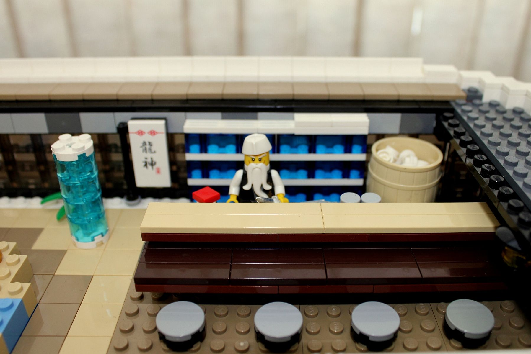 LEGO Mega-Yacht Floor 4 Sushi Bar by Keith Orlando